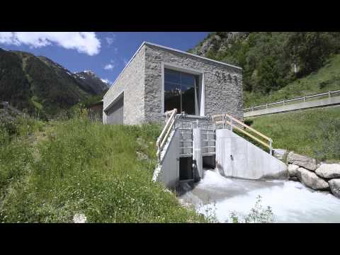 TES small hydro generator  - Susasca, Switzerland