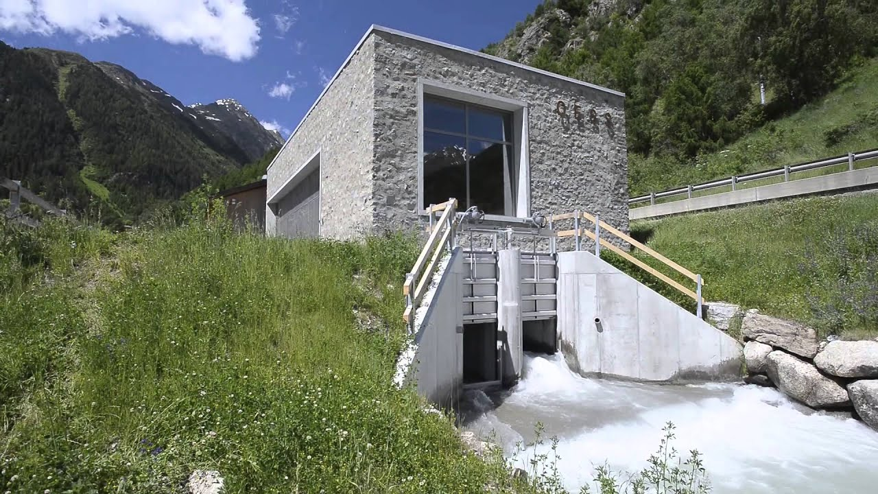 Electric Wallpaper 3d Tes Small Hydro Generator Susasca Switzerland Youtube