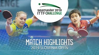 Маргарита Песоцкая vs Odo Satsuki | Slovenia Open 2019 (Semi-final)