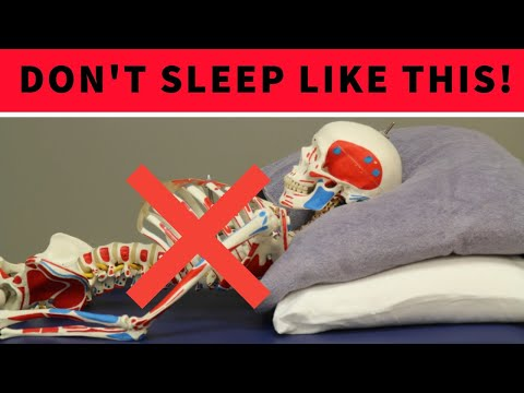Sleep Like This Your Neck Pain Will NEVER Go Away!