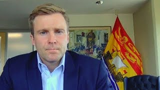 New Brunswick Premier Brian Gallant reacts to Fredericton shooting