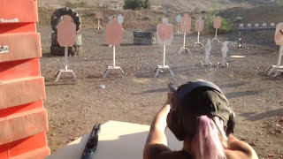 Tori Nonaka 3 gun Training with Taran