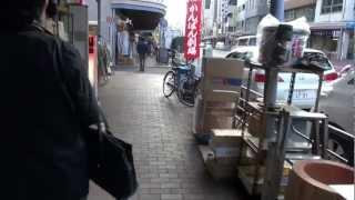 2011年11月12日、かっぱ橋本通り公西会のイメージキャラクターのカッパ...