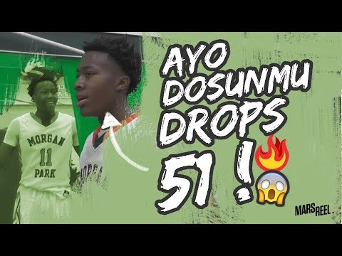 Illinois Bound Ayo Dosunmu Is A SCORING MACHINE! DROPS 51 POINTS EFFORTLESSLY!