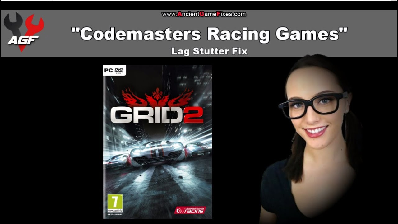 Codemasters GRID, DiRT, F1, Autosport Lag Stutter Fix for PC Games on Steam