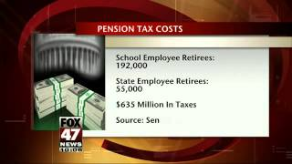 Retirees File Lawsuit Against State for Pension Tax