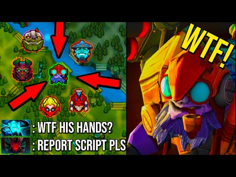 EPIC Solo Mid Tinker vs 5 Men HARD Counter Crazy Fast Hand Most Amazing Game Ever 7.24 Dota 2