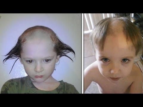5 Kids Who Cut Their Own Hair Worst Hair Cuts Funniest