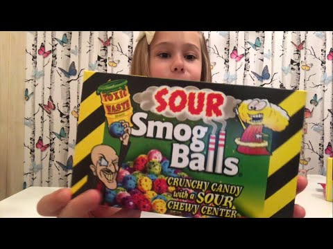 Thumbnail: Trying Super Sour Candy UK Vs US