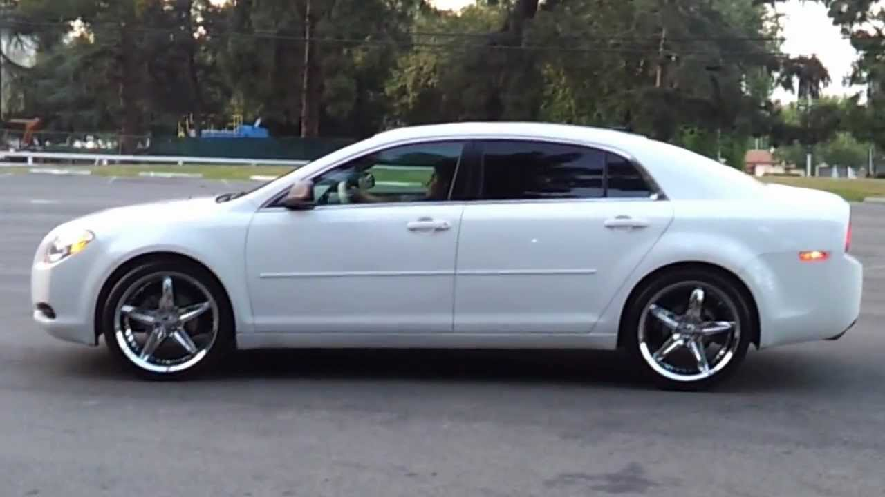 20 inch rims chevy malibu 2011 - YouTube