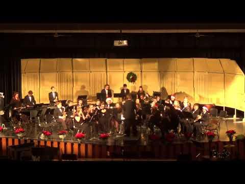 2017 Fruitport High School Wind Ensemble - Christmas Concert - Sleigh Ride