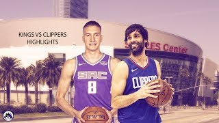 Bogdan bogdanovic vs milos teodosic - highlights | october 12, 2017 | 2017 nba preseason