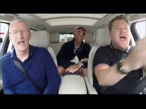 Apple CEO Tim Cook Carpool Karaoke
