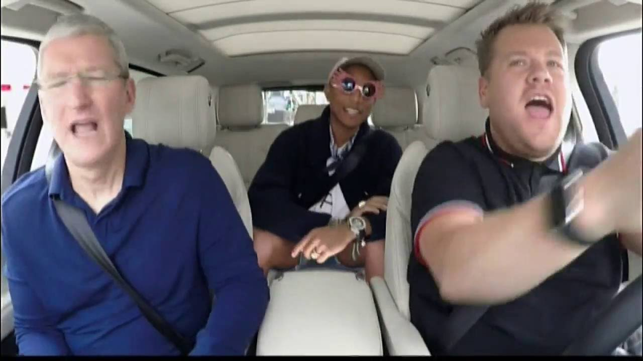 Carpool Karaoke Apple