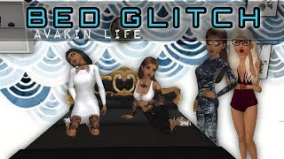 Bed Glitch! pose/dance On A Bed   Avakin Life