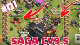 COMO INICIAR BEM NO CV10?! - SAGA CV9.5 #01 - CLASH OF CLANS