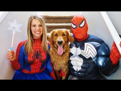 Spider Girl SAVES Earl From Venom!