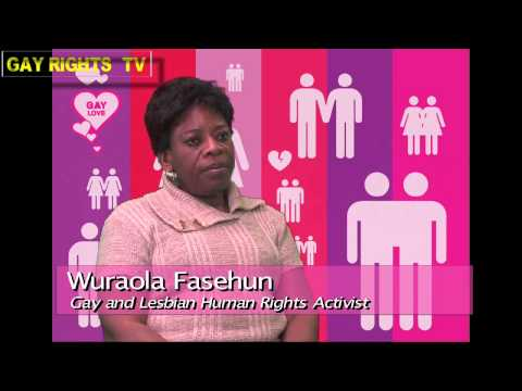 Gay and Lesbian Human Rights Activist Wuraola Fasehun calls for respect of Sexuality.