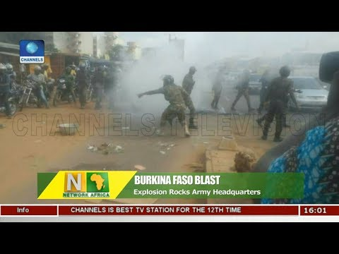 Explosion Rocks Army Headquarters In Burkina Faso |Network Africa|