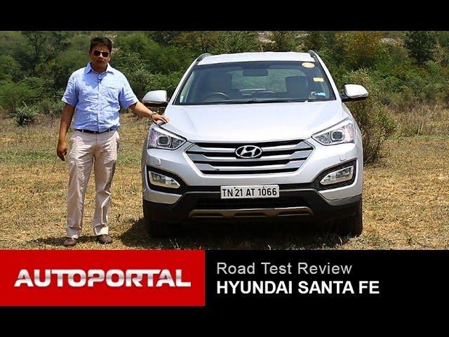 Hyundai Santa Fe Test Drive Review - AutoPortal