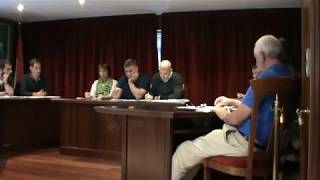 2018-10-22 Pleno Ordinario Concello de Neda