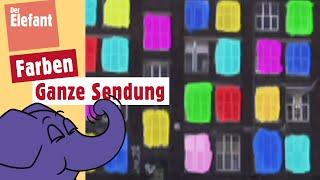 Die Sendung mit dem Elefanten - Farben | WDR