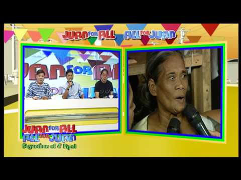 Juan For All, All For Juan Sugod Bahay   October 4, 2017