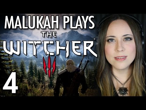 Malukah Plays The Witcher 3 - Ep. 4: Fighting in Pijamas