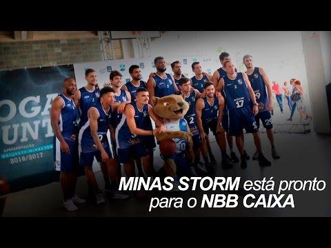 O Minas Storm está pronto para o NBB CAIXA