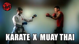Тайский Бокс против Каратэ РЕАЛЬНЫЙ БОЙ...