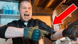 GUN Vs MY ARM!!!