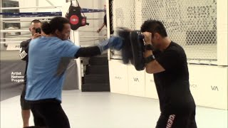 BENSON HENDERSON WORKS ON HIS TECHNIQUE & POWER - OFFICIAL MEDIA DAY IN CALIFORNIA
