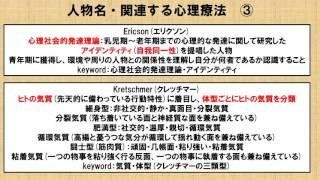 心理療法に関わる人物紹介  ~No.10 理学療法士国家試験対策 シリーズ~