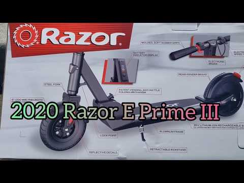 2020 Razor E Prime III Detail And Features