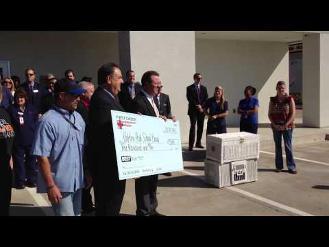 First Choice Emergency Room Presents $5,000 check to Haltom High School Band