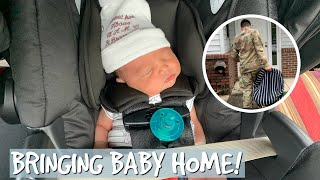 BRINGING NEWBORN BABY HOME FROM THE HOSPITAL!