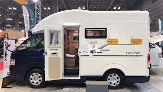 かっこいいキャンピングカー(funluce) URAL asia [4K] Japan's minicar camper (auto camp) [日本露营车] ตั้งแคมป์รถ [캠핑카]