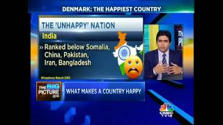 India Ranked 118 In The Happiness Index 2016