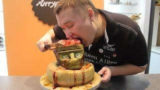 Хочу пожрать. 3D торт на Хэллоуин