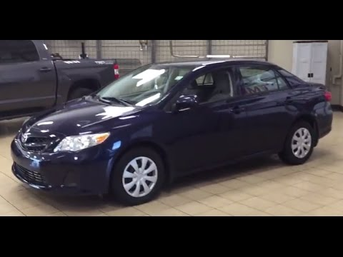 2012 Toyota Corolla CE Review