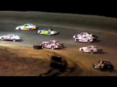 Desert Thunder Raceway I.M.C.A Stock Car Main Event 4/28/18