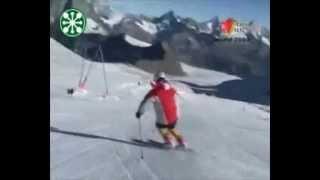 Комплекс упражнений по горным лыжам в слаломе