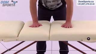 Видео о Массажный стол Art Of Choice Raf Black