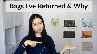 Bags I've returned & Why | English Subs 退掉包包及原因