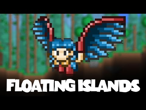 Terraria - How To Find Floating islands in Terraria - Beginners Guide