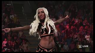 WWE 2K19 Alicia Fox vs Rosa Mendes
