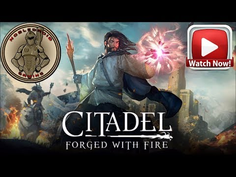 Citadel: Forged with Fire playthrough and Citadel Gameplay. Citadel forged with fire. Flying Broom!