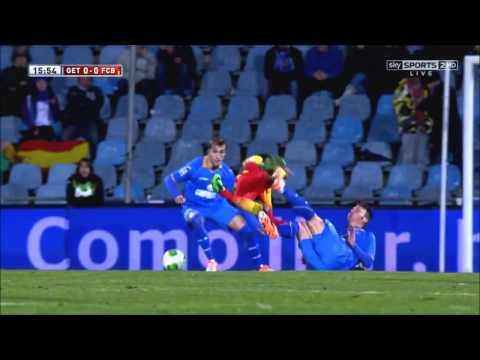 Neymar vs getafe - barcelona x getafe