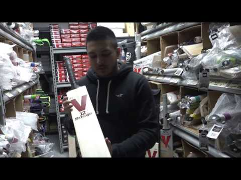 2017 Slazenger V12 Limited Edition Cricket Bat Review