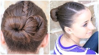 How to Create an Infinity Bun | Updo Hairstyles thumbnail